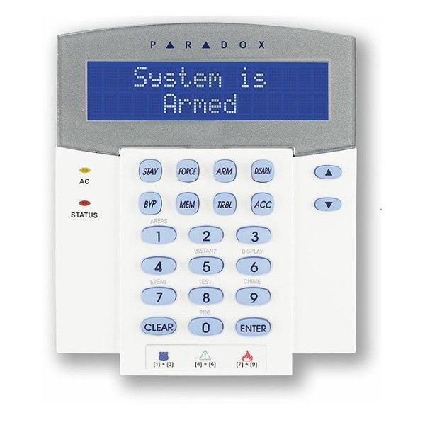 K641R LCD klávesnice se čtečkou Paradox