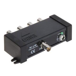 RV-1/4P Rozdělovač videosignálu