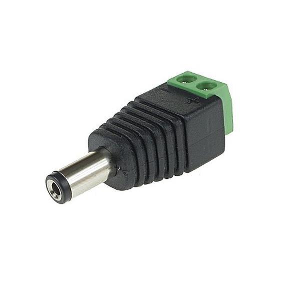 Napájecí konektor se svorkovnicí