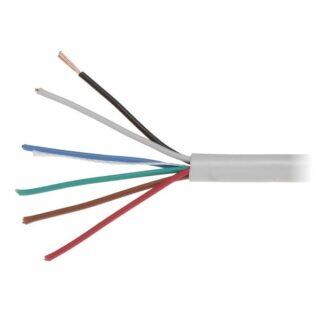 Kabel pro EZS 6X0.22 lanko, nestíněný
