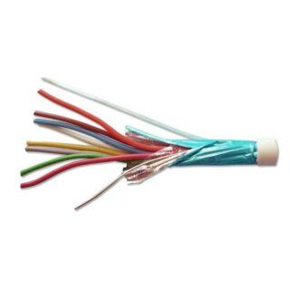 Kabel pro EZS 8x0,5 drát, stíněný